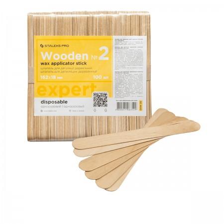 Штапель для депиляции Сталекс деревянный (лопатка) EXPERT 20 (100 шт)