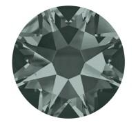 Стразы цветные SWAROVSKI SS3 50 шт Black Diamond
