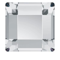 Стразы SWAROVSKI квадрат 10 шт Cristal
