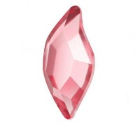 Стразы SWAROVSKI лепесток Армани 1 шт Light Rose