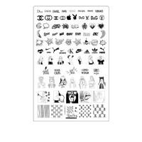 Пластина для стемпинга ТАКИ ДА (06 На стиле)