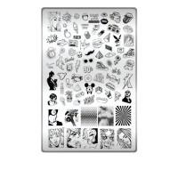 Пластина для стемпинга ТАКИ ДА (17 Ностальгия)