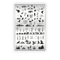 Пластина для стемпинга ТАКИ ДА (23 Природа)