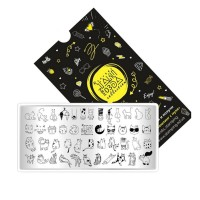 Пластина для стемпинга ТАКИ ДА мини (03 Collection)