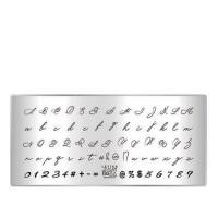 Пластина для стемпинга ТАКИ ДА мини (03 Letter)