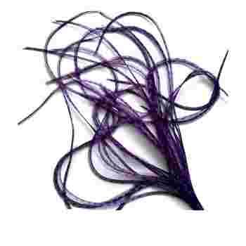 Перо для волос UrbanBird Premium (30-33 см) (Amethyst)