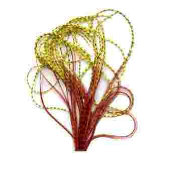 Перо для волос UrbanBird Standart (23-25 см) (Autum Gold)