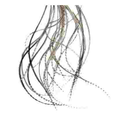 Перо для волос UrbanBird Standart (23-25 см) (Nutty Shade)