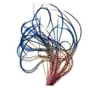 Перо для волос UrbanBird Premium + (34+ см) (Sunset Horizon)