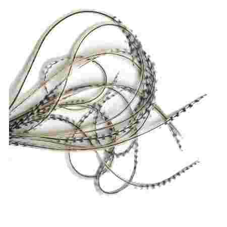 Перо для волос UrbanBird Standart (23-25 см) (Wheat Ray-Mix)