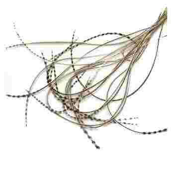 Перо для волос UrbanBird Standart (23-25 см) (Wheat Ray)