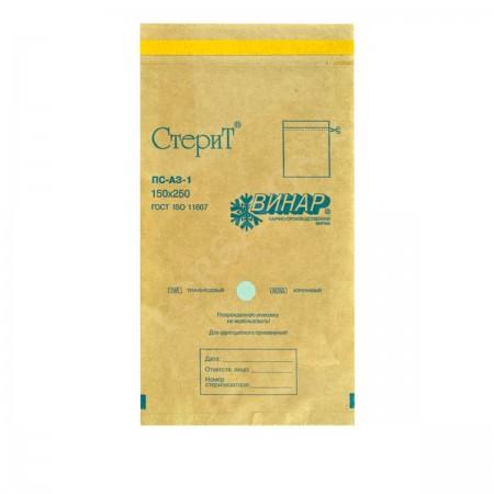 Пакеты Винар бумажные крафт 150*250 1 шт