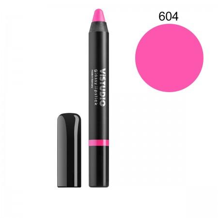 Помада-карандаш ViStudio Glossy Lipstick 604