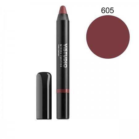 Помада-карандаш ViStudio Glossy Lipstick 605