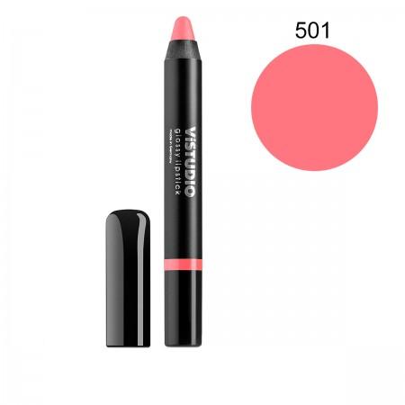 Помада-карандаш ViStudio Glossy Lipstick 501