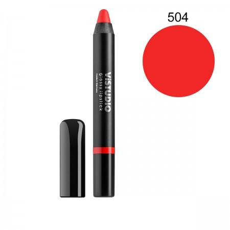 Помада-карандаш ViStudio Glossy Lipstick 504