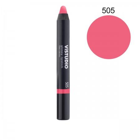 Помада-карандаш ViStudio Glossy Lipstick 505