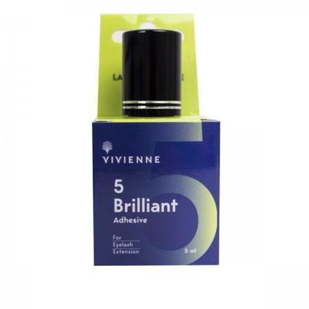 Клей Vivienne Brilliant Black 5 мл