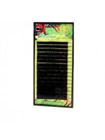 Ресницы в коробке Vivienne SAFARI Черный 16 линий (0,07*C (8-14))