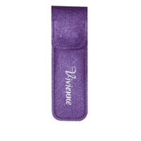 Чехол Vivienne на 2 пинцета с магнитной кнопкой фиолетовый