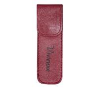 Чехол Vivienne на 2 пинцета с магнитной кнопкой красный