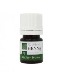 Хна для бровей Vivienne Super Henna сухая 8 г коричневый