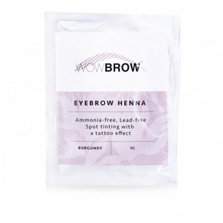 Хна для бровей Vivienne WOWBROW 1 сашет 1 гр (Burgundy)
