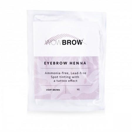 Хна для бровей Vivienne WOWBROW 1 сашет 1 гр (Light Brown)