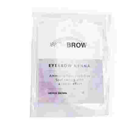 Хна для бровей Vivienne WOWBROW 1 сашет 1 гр (Medium Brown)