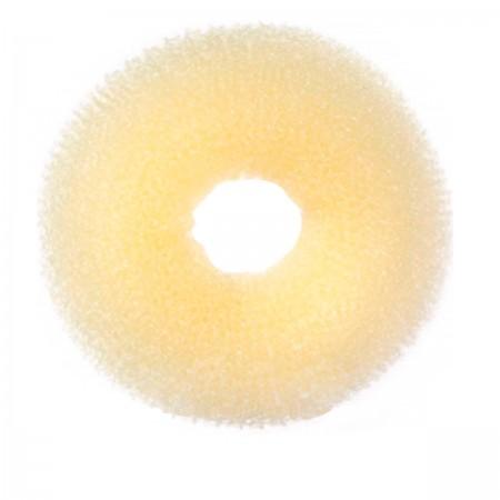 Валик для причесок круглый YRE блонд 7 см