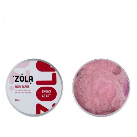 Скраб для бровей Zola мини-версия 40 мл