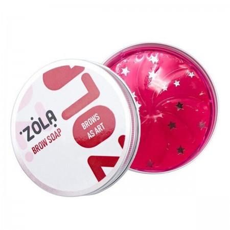 Мыло для бровей Zola для фиксации волосков (мини-версия) 25 г