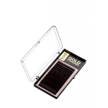 Ресницы KODI Gold Standart 16 рядов (0,07*C 12 мм)