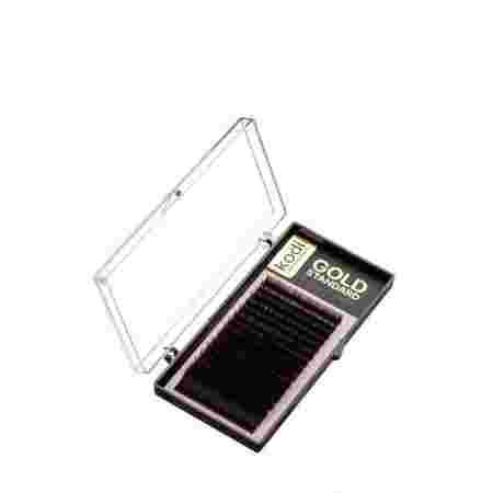 Ресницы KODI Gold Standart 16 рядов (0,07*D 12 мм)