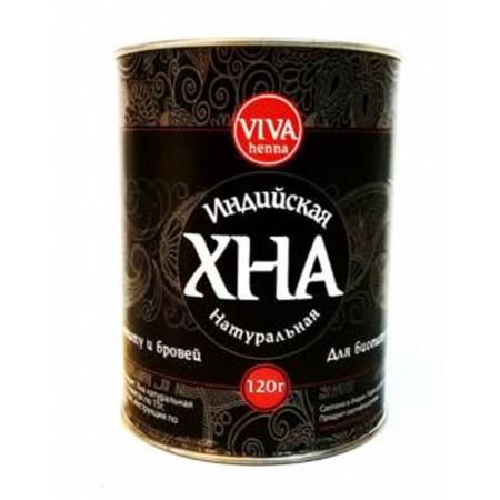Хна для биотату и бровей Viva Henna черная 120 г