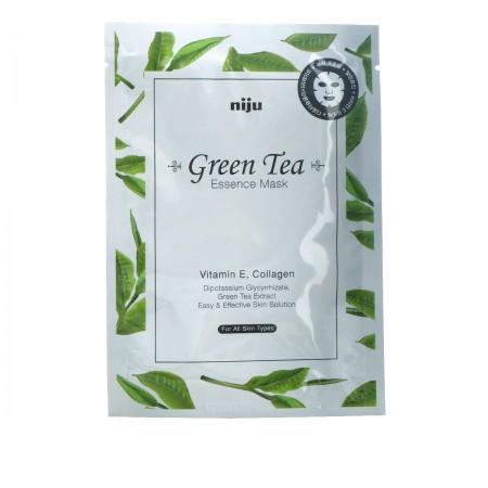 Маска для лица niju Green Tea Essence Mask 17 мл