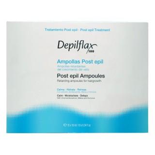 Сыворотка в ампулах для замедления роста волос на теле Depilflax 10 мл