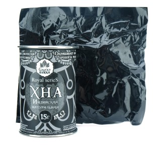 Хна для биотату и бровей Viva Henna Royal (пудровый эффект) черная 15 г