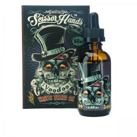 Масло Scissor Hands Voodoo для бороды Beard Oil с древесным ароматом 50 мл