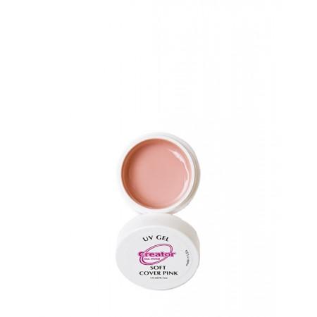 Гель Creator UV Soft Cover Pink 14 мл