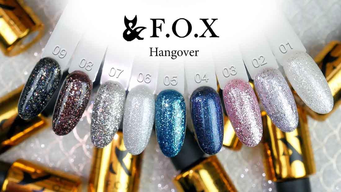 Купить гель-лак Hangover FOX