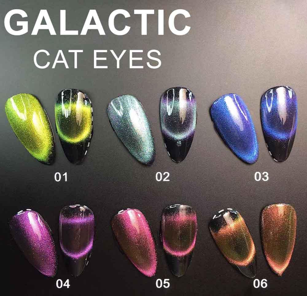 Купить гель-лаки Cat eye 3D FOX